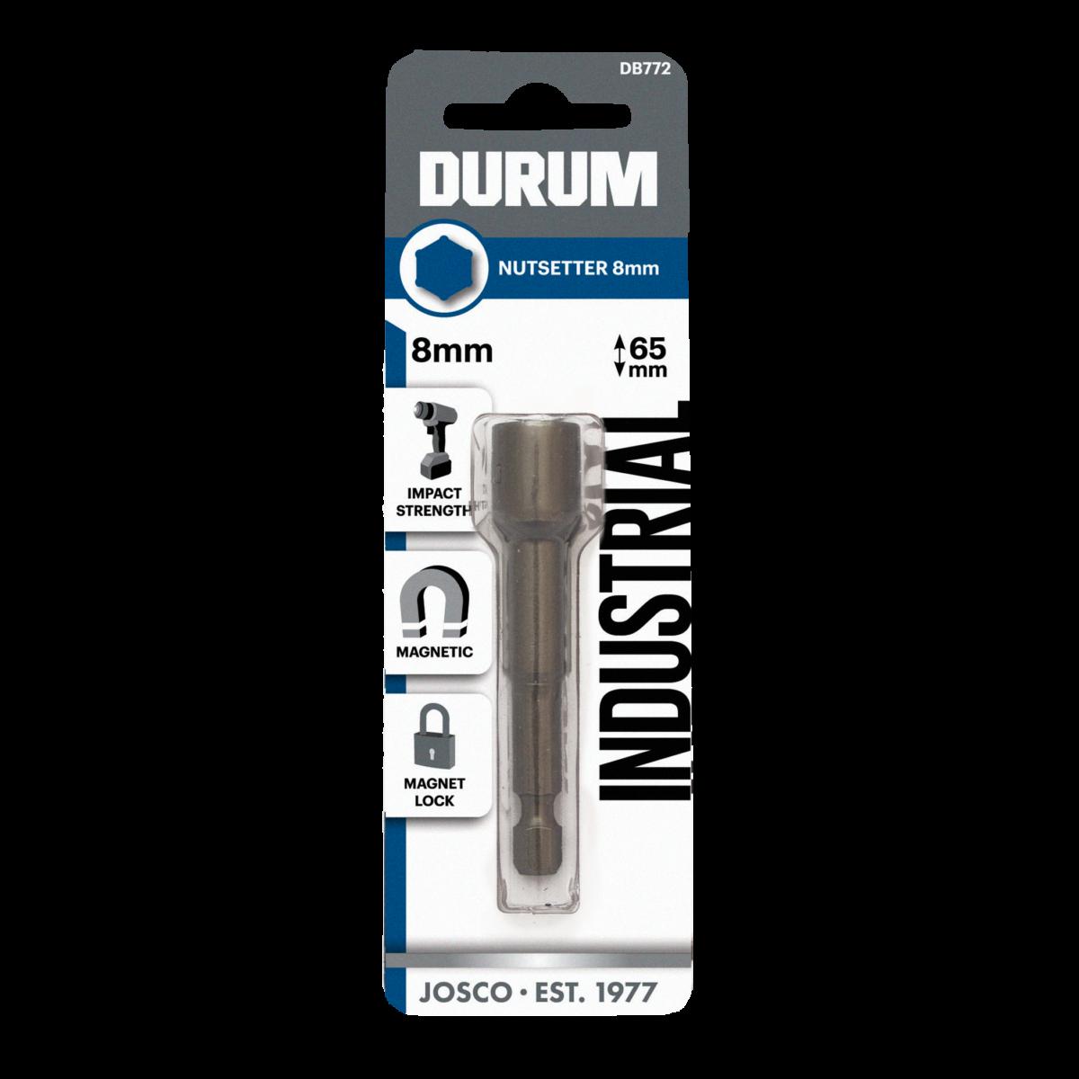 """Durum MAGNETIC POWER NUTSETTER Impact Strength 5//16""""x 150mm"""